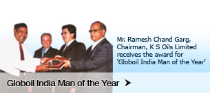 Globoil India Man of the Year
